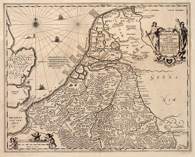 Belgii Veteris 1617 Kaerius