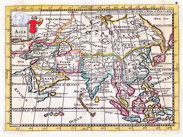 Azië 1706 de la Feuille
