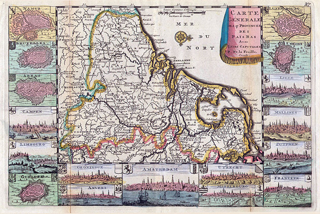 Nederland 17 Provinciën 1706 De la Feuille