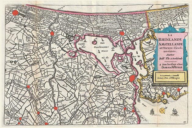 Rijnland Amstelland 1747 De la Feuille