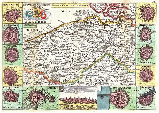 Vlaanderen 1747 De la Feuile