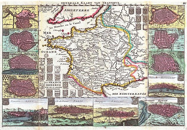 Frankrijk 1747 De la Feuille