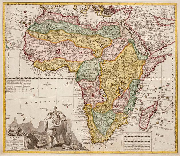 Afrika 1735 Ottens naar Visscher