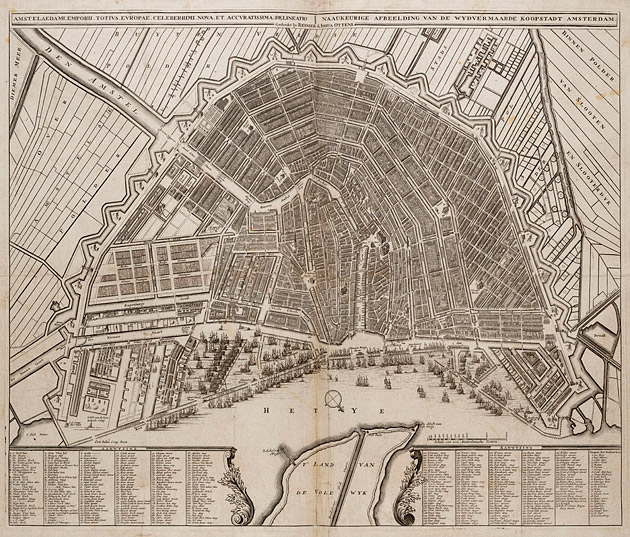 Amsterdam 1740 Ottens