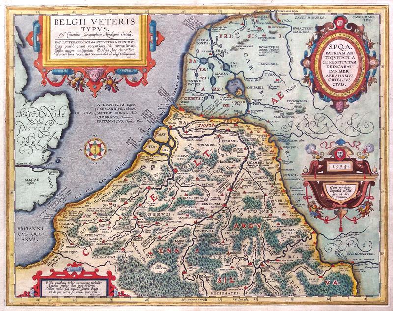 Belgie Oude Landkaarten En Plattegronden Oudelandkaarten Nl