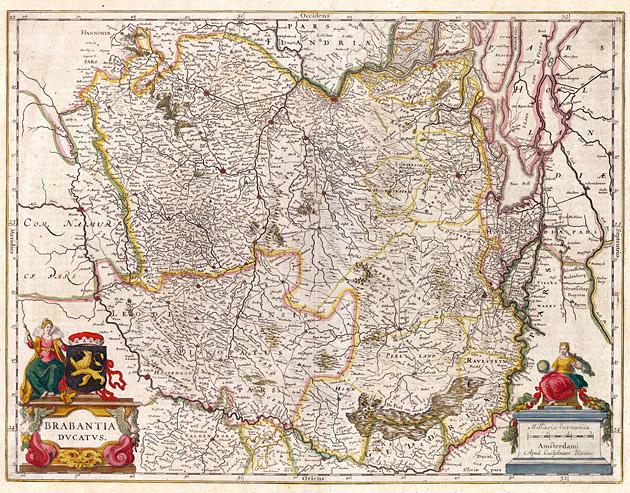 Brabantia 1645 Willem Blaeu