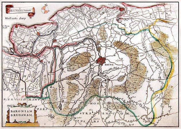 Baronie Breda 1660 Aertsen