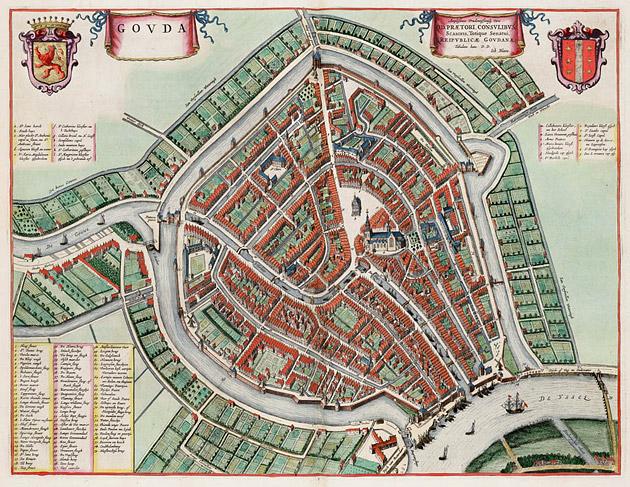 Gouda 1649 Blaeu