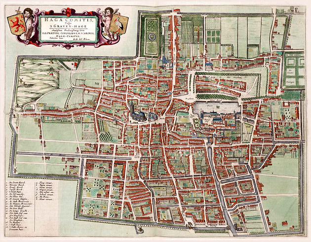 Den Haag 1649 Blaeu
