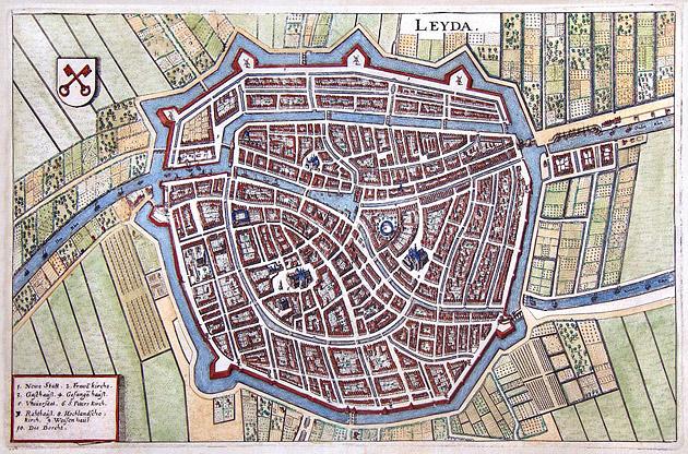 Leiden 1646 Merian