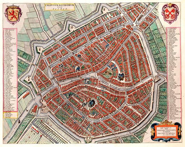 Leiden 1649 Blaeu