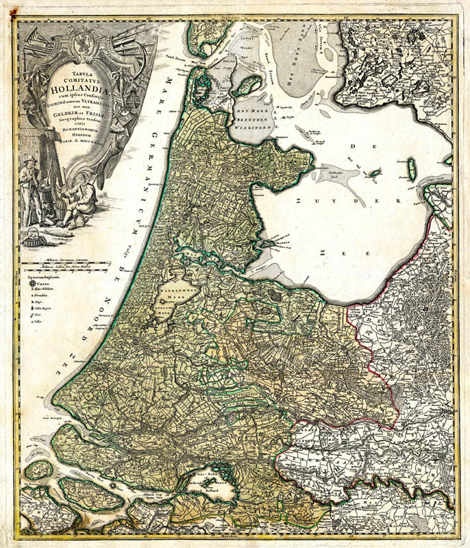 Hollandia 1733 Homann