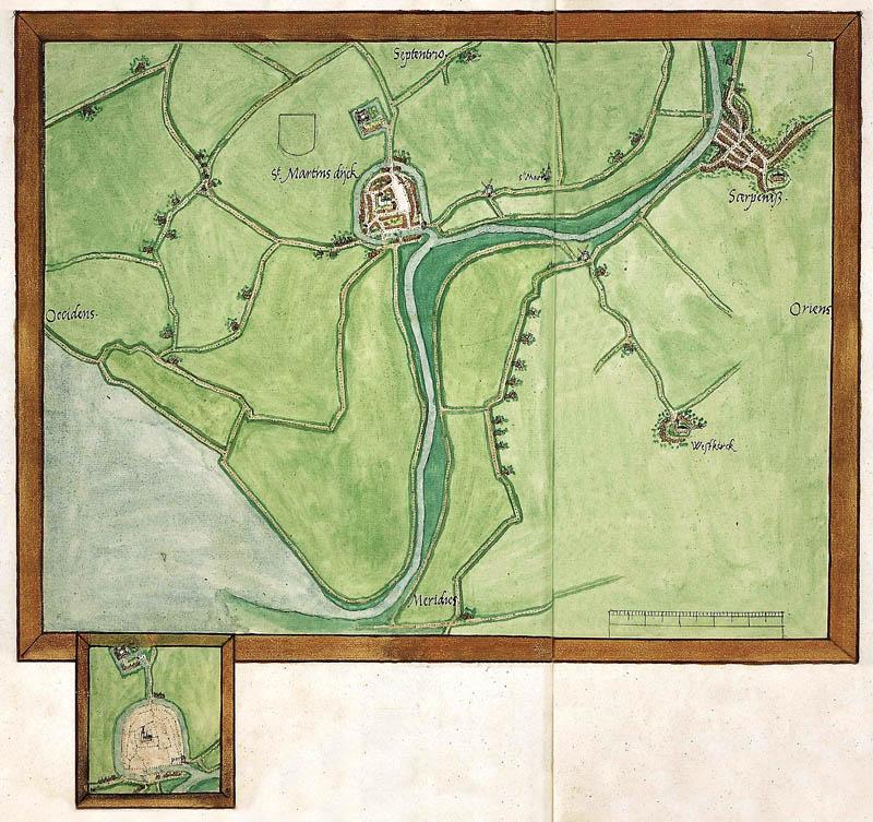 St.Maartensdijk - Oude landkaarten en plattegronden ...