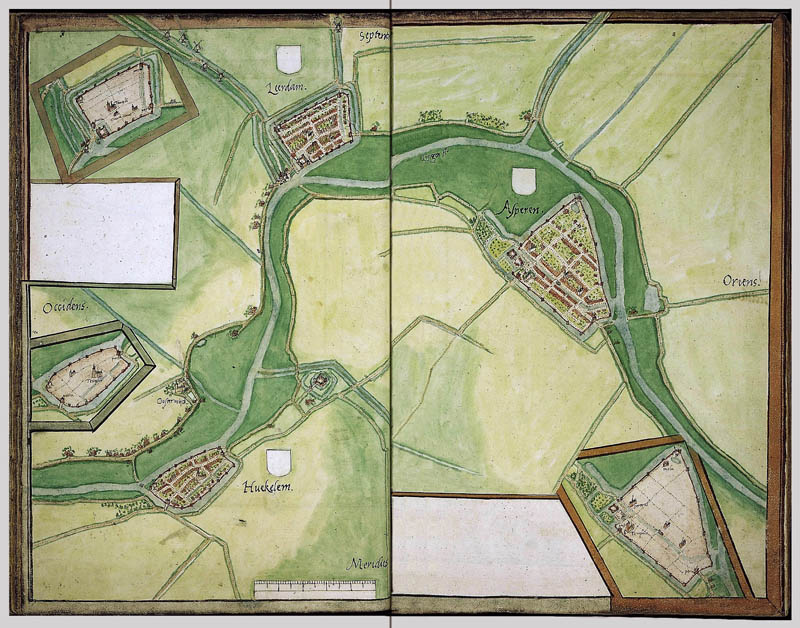 Leerdam - Asperen - Heukelum 1545 Jacob v.Deventer