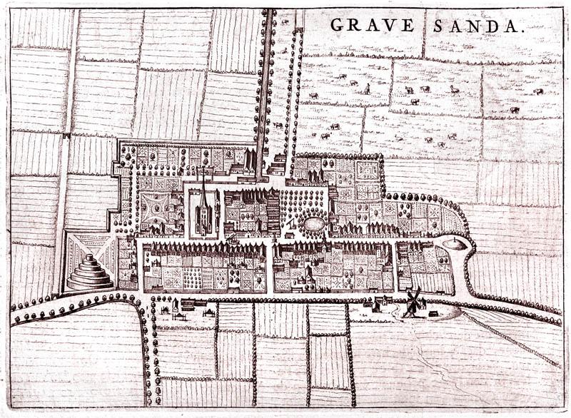 sGravenzande - Oude landkaarten en plattegronden ...