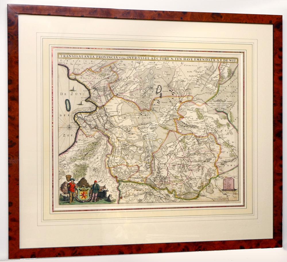 Overijssel Ten Have / De Wit uit 1670
