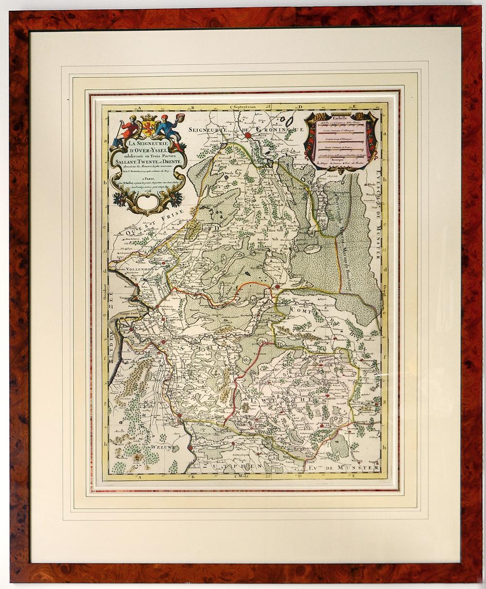 La Seigneurie d'Overijssel 1696