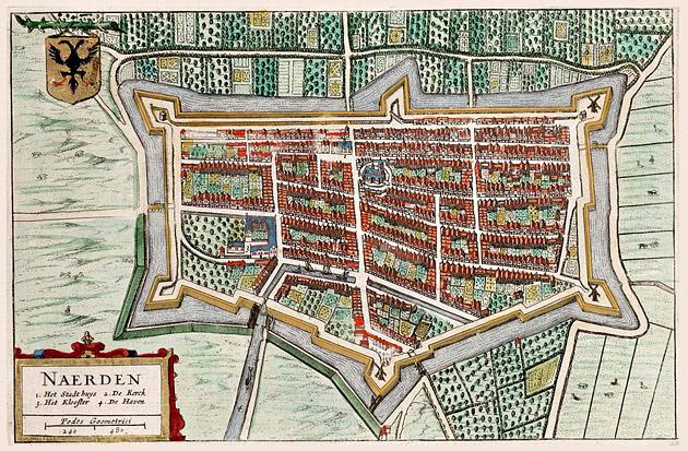 Naarden 1649 Blaeu