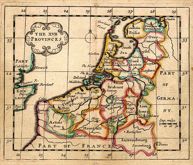 Nederland Zeventien Provincies 1684 Seller