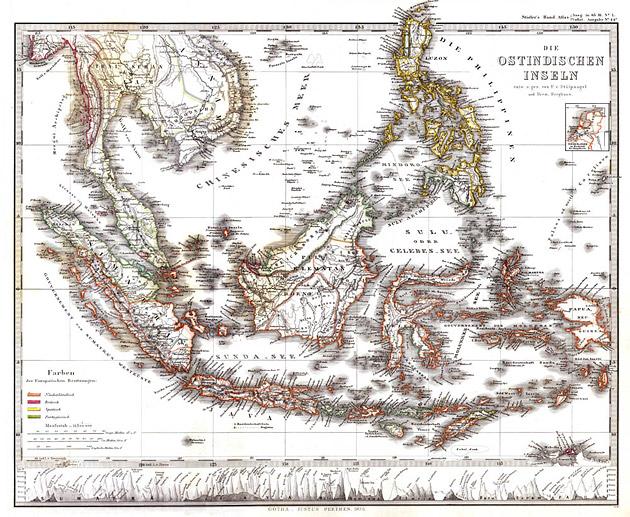 Oost Indische Eilanden 1858 von Stuelpnagel