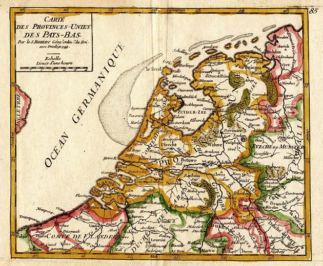 Nederlanden Pays Bas 1748 Robert
