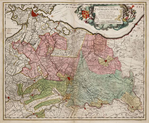 Utrecht Provincie 1740 Visscher - Ottens