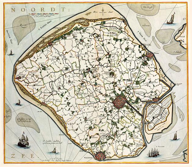 Walcheren 1681 Nicolaes Visscher